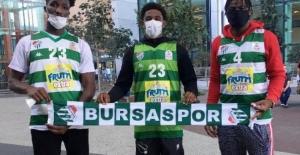 Frutti Extra Bursaspor'un 3 yeni ABD'li transferi geldi