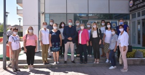 Gemlik Belediye Başkanı Sertaslan CHP'li kadınları ağırladı
