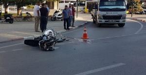 İnegöl'de feci motor kazası!