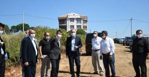 İnegöl'de yeni yerleşim alanlarının yolları açılıyor