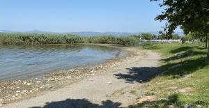bİznik Gölü#039;nde korkutan görüntü!/b
