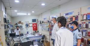 Karacabey'de Başkan Özkan, korona virüs tedbirlerini denetledi