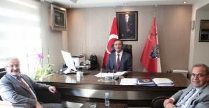 Nilüfer Belediye Başkanı Erdem'den Arslan'a 'hayırlı olsun' ziyareti