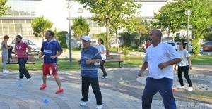 Yıldırım'da sağlıklı yaşamın şifresi: Sabah sporu