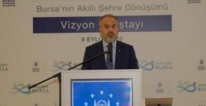 """Bursa Büyükşehir Belediye Başkanı Aktaş: """"Akıllı şehircilik bir zorunluluk"""""""