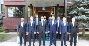 Bursaspor'dan Başkan Aktaş'a ziyaret!