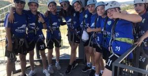Futbolcular Bursa Gürsu Adrenalin parkta güç topladı