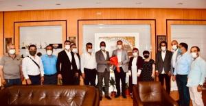 İnegöl Belediye Başkanı Taban'a Milli Beka Hareketi'nden ziyaret