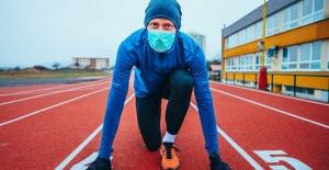 Maske ile spor yaparken dikkat!