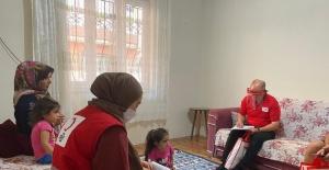 Türk Kızılay Bursa Yardım Faaliyetlerini Aralıksız Sürdürüyor