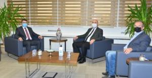 Başkan Aydın'dan Yıldırım belediyesi'ne ziyaret