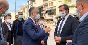 Bursa Büyükşehir Belediye Başkanı Aktaş değişen Gürsu'yu inceledi