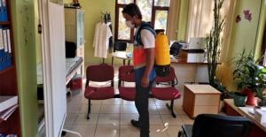 Bursa'da virüs yok olana kadar dezenfeksiyona devam