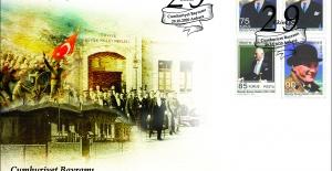 PTT'den Cumhuriyet Bayramı konulu özel gün zarfı