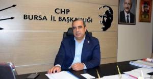 bCHP Bursa İl Başkanı Karaca: #039;#039;Bursa.../b
