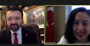Bursa'da Şili Pazarı ve Ticaret Fırsatları webinarı gerçekleştirildi
