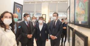 Türkiye Azerbaycan kardeşliğinin hikayesi Bursa'da resimlerle anlatıldı