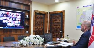 Türkiye Belediyeler Birliği Toplantısı video konferans ile gerçekleşti
