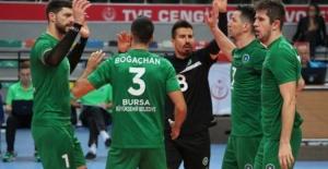 Ziraat Bankkart: 3 - Bursa Büyükşehir Belediyespor: 0