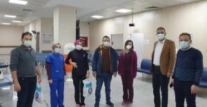 Bursa'da sağlık çalışanlarına sendika morali