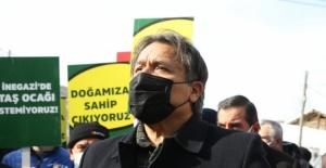 Bursa'da verimli arazileri talan edecek projeye büyük tepki