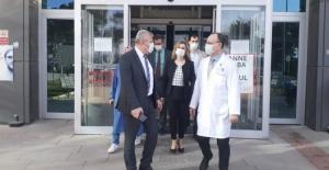 Bursa İl Sağlık Müdürü İznik'teki sağlık tesislerini inceledi