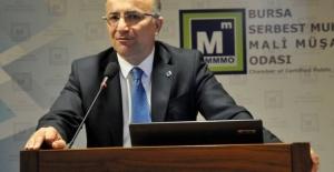 Bursa Serbest Muhasebeci Mali Müşavirler Odası başkanından önemli vergi ödemeleri açıklaması!