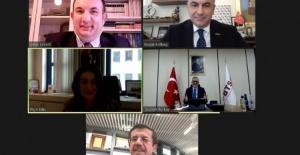 Bursa Ticaret ve Sanayi Odası'nın online seminerine Nihat Zeybekci katıldı