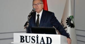 """BUSİAD Başkanı Türkay: """"Enflasyonu verimli üretimle yeneriz"""""""