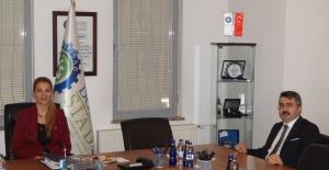 DOSABSİAD Başkanı Çevikel, Başkan Yılmaz'ı ağırladı