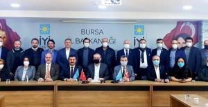 İYİ Parti Bursa'dan basın açıklaması