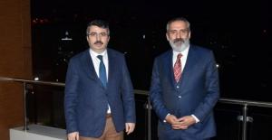 Yavuz Bingöl'den Bursa Yıldırım Belediye Başkanı Yılmaz'a ziyaret