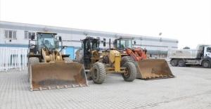 İnegöl Belediyesi ekipleri, kar yağışına hazır