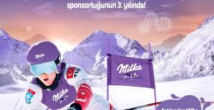 Milka 2021 yılında da Türk Kayağına desteğini devam ettiriyor