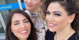 Nefise Karatay ve Didem Taslan diş bakımlarını yaptırdı