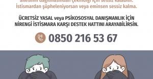 NİRENGİ DERNEĞİ İSTİSMARA KARŞI DESTEK TELEFON HATTI AÇILDI