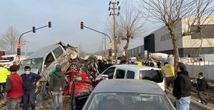 Bursa-Ankara yolunda trafik kazası:...