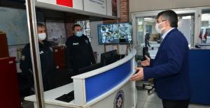 BAŞKAN YILMAZ'DAN GÖREV BAŞINDAKİ POLİSLERE SÜRPRİZ ZİYARET
