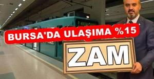 bBURSA#039;DAKİ ULAŞIM ZAMMINA HALK.../b