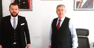 NECMİ İNCE SELÇUK ÖZDAĞ'I ZİYARET ETTİ