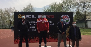 Osmangazili Atlet Gümüş Madalya Kazandı