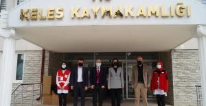 TÜRK KIZILAY BURSA'DAN KELES'E YARDIM...