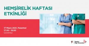 """BİLGİ Sağlık Bilimleri Fakültesi'nden """"Hemşirelik Haftası Etkinliği"""""""