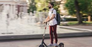 Normalleşme başladı  e-scooter'lar caddelere indi