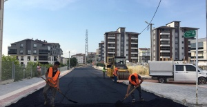 Osmangazi'de Asfalt Çalışmaları Hız Kesmiyor