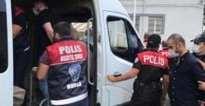 Bursa'da evlerden hırsızlık yaptığı tespit edilen 7 zanlı yakalandı