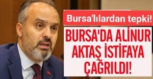 Bursada 'stadyum krizi: #AlinurAktaşistifa...