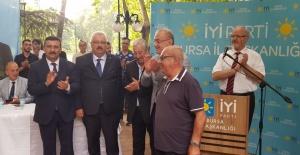 İYİ PARTİ BURSA'NIN BAYRAMLAŞMASINDA...