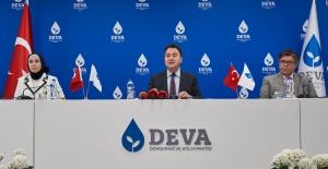DEVA PARTİSİ 'EŞİTLİKÇİ KENTLER' PROJESİNİ AÇIKLADI