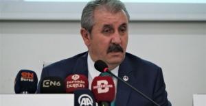 BBP Genel Başkanı Destici Bursa'da açıklamalarda bulundu
